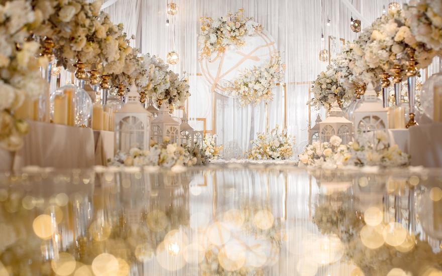 欣宴香槟色系梦幻唯美婚礼