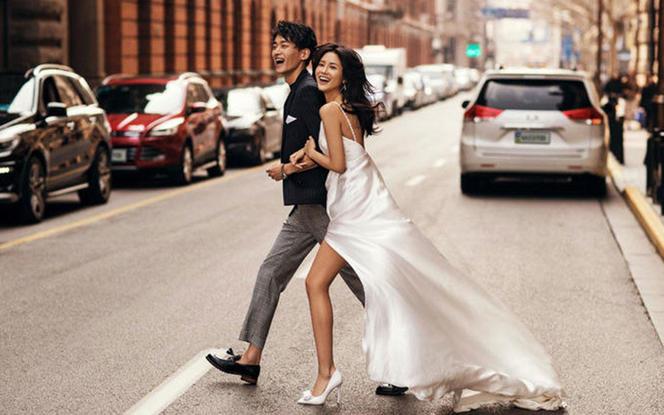 【舟山】纽约婚纱摄影丨12服12造+双首席拍摄