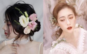 【全套梦幻系列】婚纱全程唯美跟妆   送亲友妆