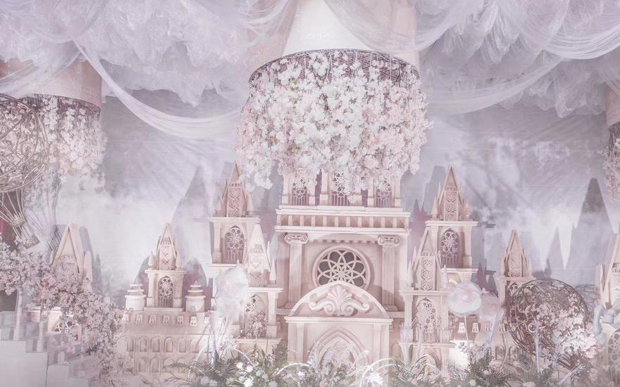 哈尔滨乔思卡品质婚礼策划--梦幻城堡系