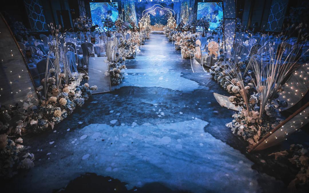 【遇见】蓝色婚礼的梦幻之旅