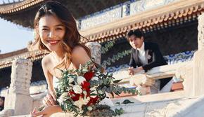 【北京轻旅婚照】好评如潮+Canon人像镜头抓拍