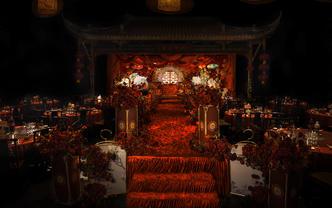 【 We婚礼】重视丨庄重丨仪式感丨红【鸾凤和鸣】