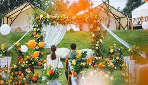 【美时婚礼】 经典户外婚礼系列