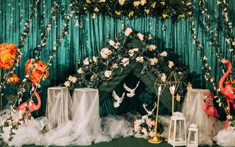 #幸福花开婚礼现场·绿茵之梦#