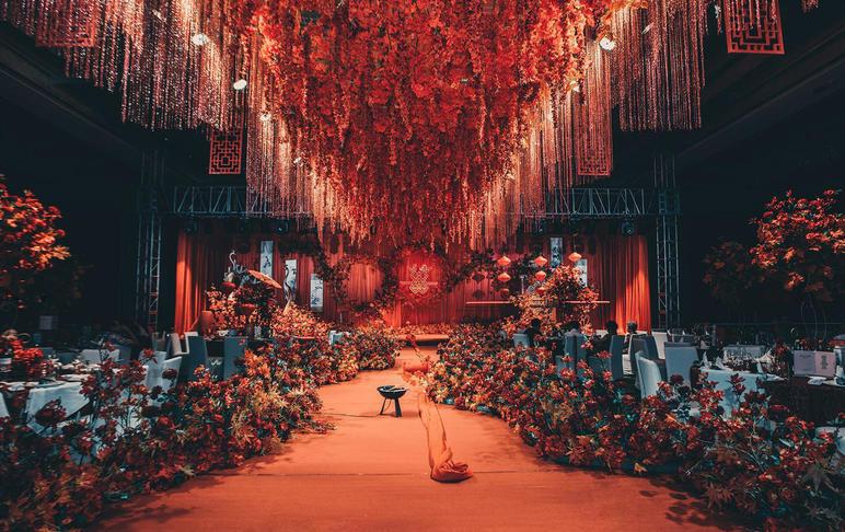 【心遞】年度大熱 大氣吊頂復古新中式婚禮
