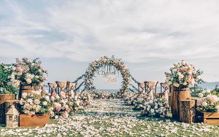 【缘分天空】清新田园风草坪婚礼