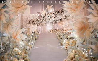 ins·2019超火香槟色花艺设计婚礼《蜜意》