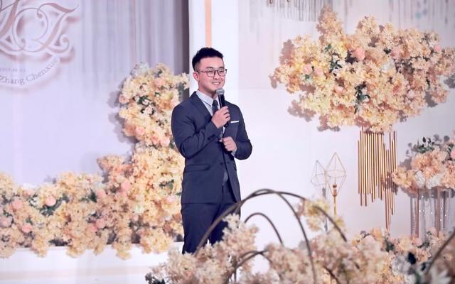 李康婚礼纪实:我用8年繁锦流年 守此生淡雅年华