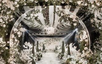 绚烂之光高端定制森系婚礼 包含四大
