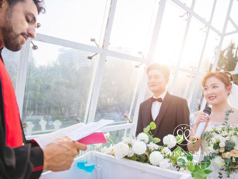 【实价】海边礼堂婚礼/场地使用+布置+四大金刚