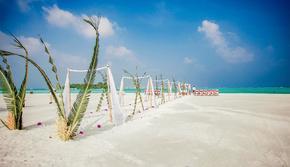 【马尔代夫婚礼】天堂岛婚礼 海外一价全包