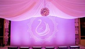 幸?;榈?温馨浪漫的浅紫色主题婚礼