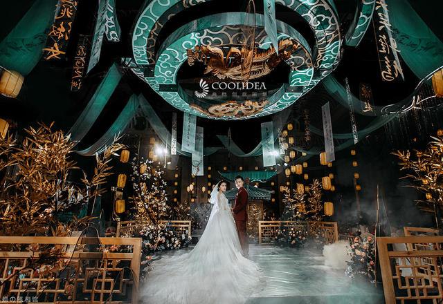 【源初晴起时】上古奇书布阵,打破常规的新中式婚礼
