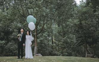 总监摄影师单机位婚礼摄影原片全送精修60
