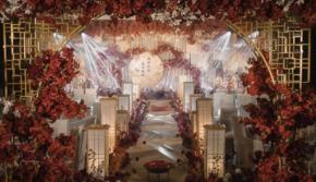 不朽琴瑟和鸣-新中式红色婚礼