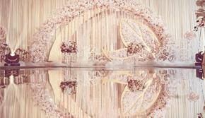 《幸福里》梦幻香槟色系婚礼