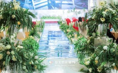 森系浪漫婚礼《轨迹》茂名蔓美婚礼策划
