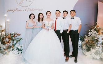 武汉婚礼跟拍纪实摄影双机位【摄影总监+摄像首席】