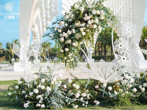 千寻婚礼|30人小型婚礼/森系婚礼+浪漫晚宴
