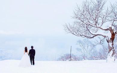 北海道浪漫雪景刘女士&张先生12月28日客照欣赏
