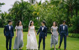 【超值套餐】海南高级化妆师新娘全程跟妆+亲友妆