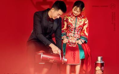 原来中式也可以拍的俏皮活泼