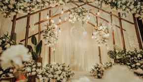 【Lan】香槟色森系简约婚礼