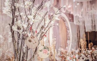【国庆特惠 】新中式风  ● 香槟白系列简约婚礼