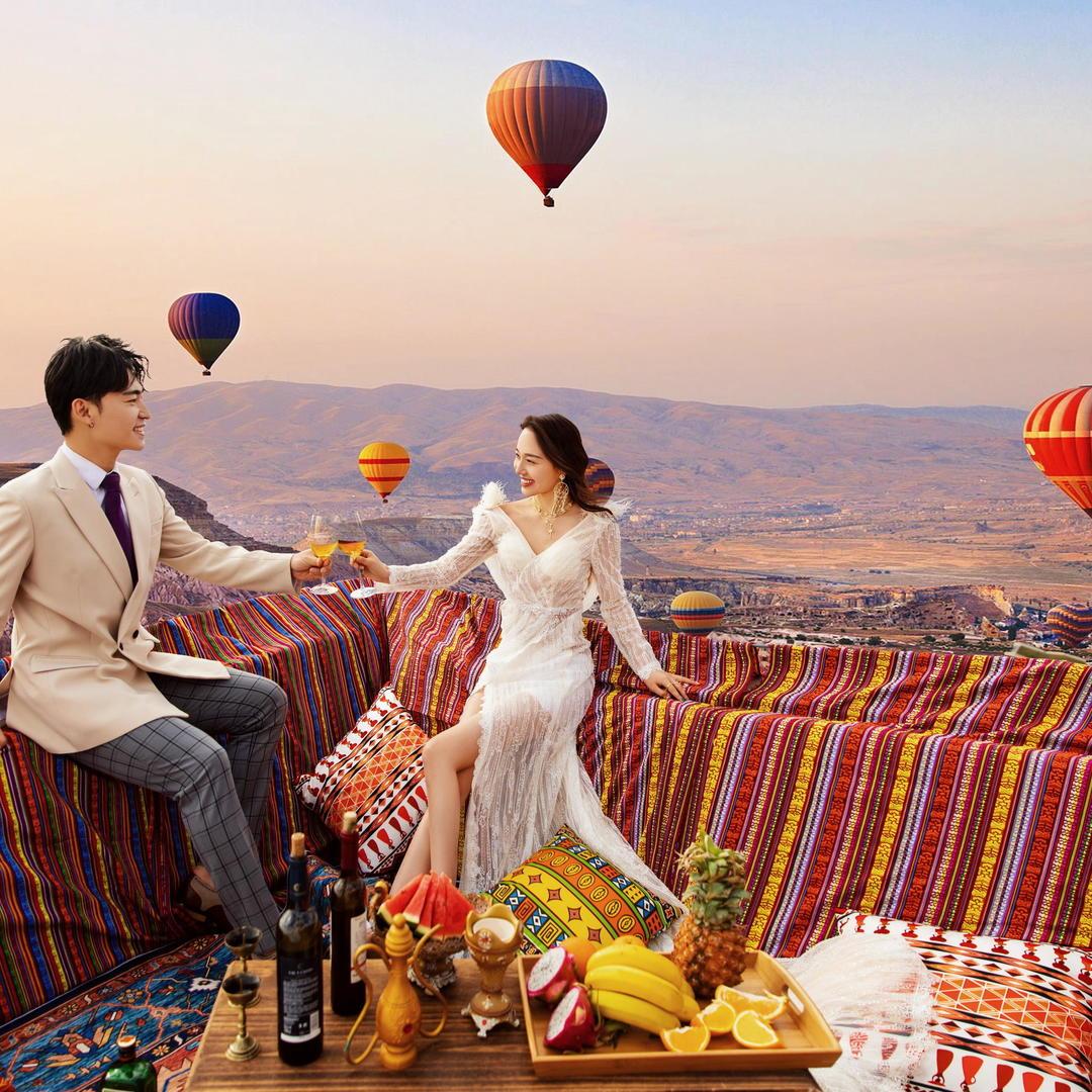 【时尚芭莎-环球旅行】婚嫁节免费升级套系