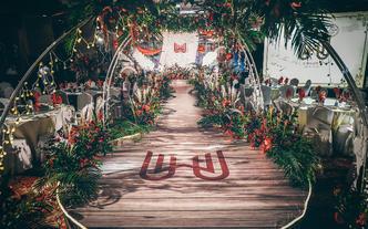 典酷创意策划 | 圣诞风个性婚礼「梦境」