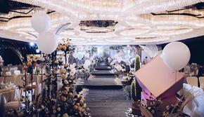 【金世缘婚礼】浪漫空间银白色花园「含四大」