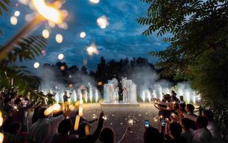 让梦想成为现实12680套餐纯婚礼现场布置