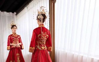 [唯誓婚纱] 中式拖尾首选