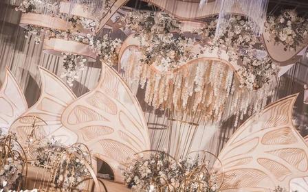 【june】主题:花间蝶&豪华布置+灯光+创意