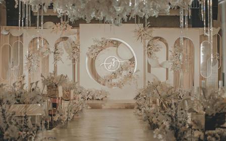 【小预算香槟建筑感婚礼】杭州第一世界休闲酒店