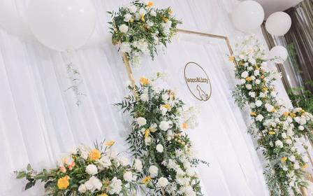 【喜尔婚礼】春季清新简约风布置套系(人员+布置)