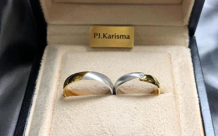 KARISMA 18K双色金系列结婚对戒「如梦」