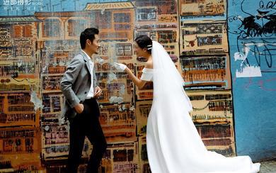 【个性街拍】复古风个性街拍婚纱照