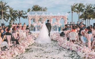 【恋人婚礼】粉色海岛婚礼·满足你所有的浪漫幻想