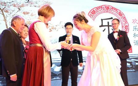 英语主持人  双语婚礼 中式婚礼