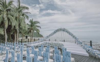 海边草坪婚礼 | 梦中的婚礼