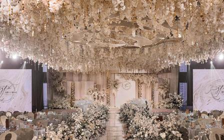 【喜尔婚礼】香槟色 盛情玫瑰