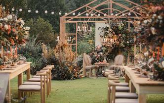 【伯妮】复古欧式花园婚礼 草坪婚礼 热门必选