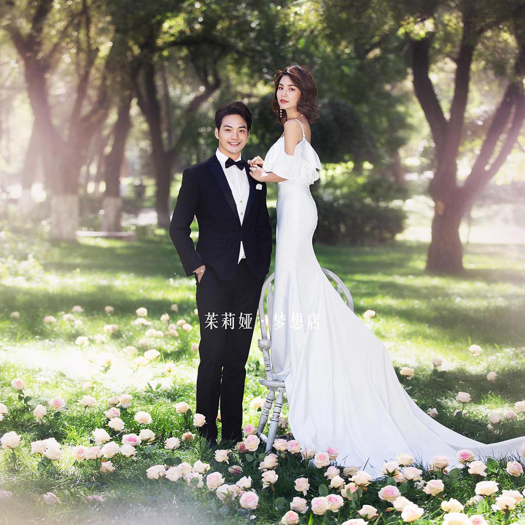 婚纱照套餐7折优惠10服10造风格任拍+送登记照