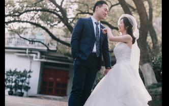 【针记婚纱】出门纱+主纱+敬酒服 送新娘全天跟妆