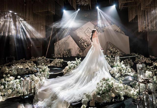 《完美黑白的演绎》SWEETLOVE婚礼定制