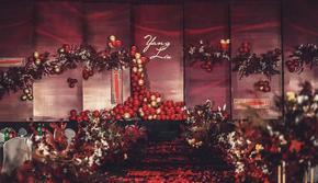 【澄一婚礼】红金色大气奢华婚礼