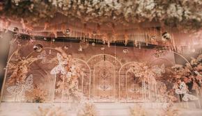 【喜相逢】蝴蝶效应 香槟粉主题婚礼