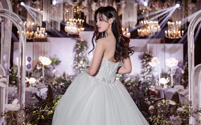 客照案例 森系搭配婚纱选择
